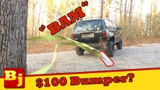 $100 Cheap Jeep Bumper Build - Operation Cheap Jeep