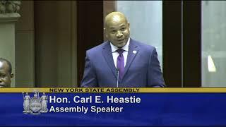 Speaker Heastie Opening Remarks for 2019-20 Legislative Session
