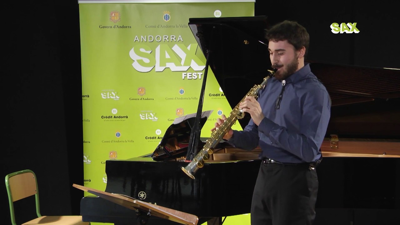 LUIS GARVIA CABANAS - 1st ROUND - V ANDORRA INTERNATIONAL SAXOPHONE COMPETITION 2018