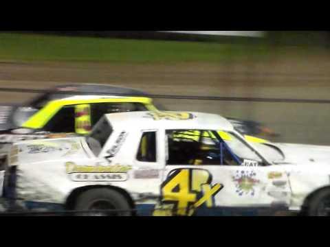 Hobby Stock Amain @ Marshalltown Speedway 09/17/16