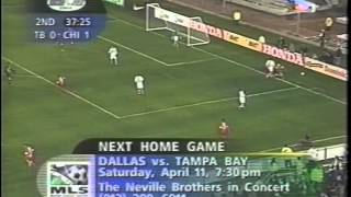 Tampa Bay Mutiny At Chicago Fire MLS Soccer 4/4/98