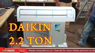 Unboxing Daikin Air condition 2.2 Ton