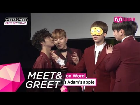 [MEET&GREET] B.A.P TOUCH MY BODY Game