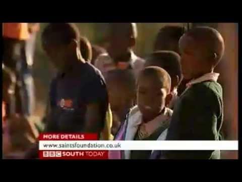 BBC News Promo of Saints Foundation and Kick4Life Tour to Lesotho