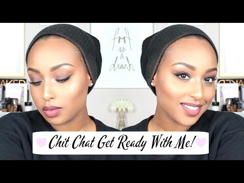 ChitChat GRWM ❀ Spring Glam | Drugstore/Affordable Makeup!