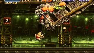 metal slug 2 mission 5 level 8 NO DEATH