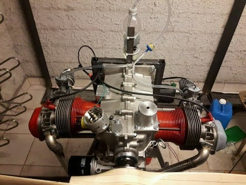 How to build a airplane engine from garbage DIY