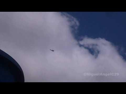 """Eurocopter AS-532 Cougar """"AMB/FAV"""" pasaje vertical Aeropuerto de San Tome SVST/SOM"""