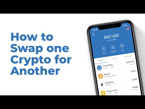 How to Swap one Crypto for Another