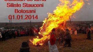 Obiceiuri de iarna Siliste Stauceni Botosani 01.01.2014