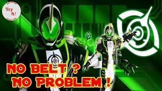 Kamen Rider Yang Tidak Memakai Belt Untuk Berubah