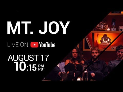LIVESTREAM: Mt. Joy LIVE from the Independent in San Francisco - 10:15pm PDT