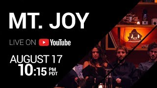 LIVESTREAM: Mt. Joy LIVE from the Independent in San Francisco - 10:15pm PDT thumbnail