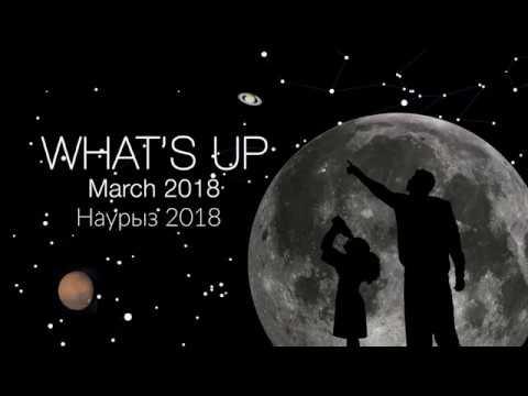 НАСА астрономиялық шолуы. Наурыз 2018 ¦ Планеталар және Зодиак Жарығы
