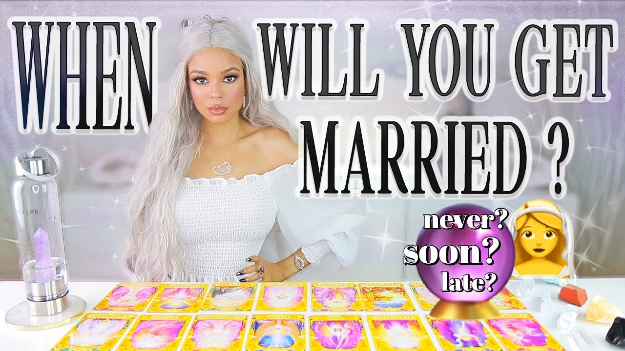 Pick A Card When Will You Get Married Psychic Reading Youtube