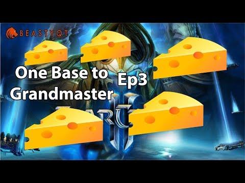 StarCraft 2: MOZZARELLA CHEESE!! - ONE BASE to Grandmaster Episode 3