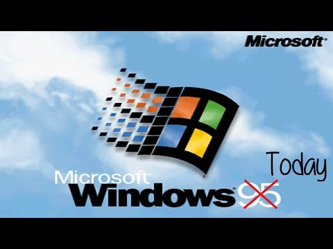 Using Windows 95 in 2016: Is It Possible?