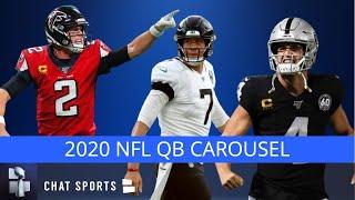 2020 NFL QB Free Agency & Draft, Cut Derek Carr, Matt Ryan or Nick Foles? | NFL Rumors Mailbag
