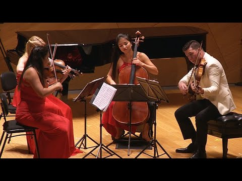 Schubert's Quartettsatz - La Jolla Music Society's SummerFest 2017