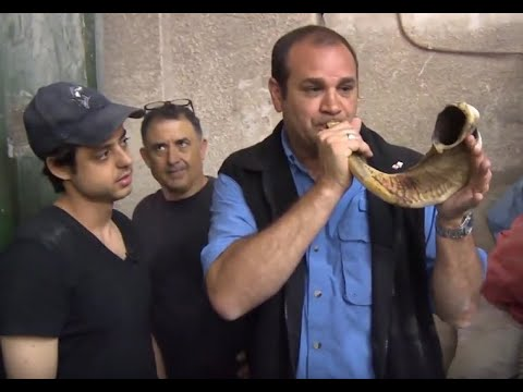 Shofar Factory Tour With Joe Amaral. Jerusaelm, Tel Aviv, Israel.