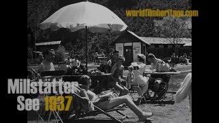 1937 - Millstätter See - Ferien in Kärnten - Österreich