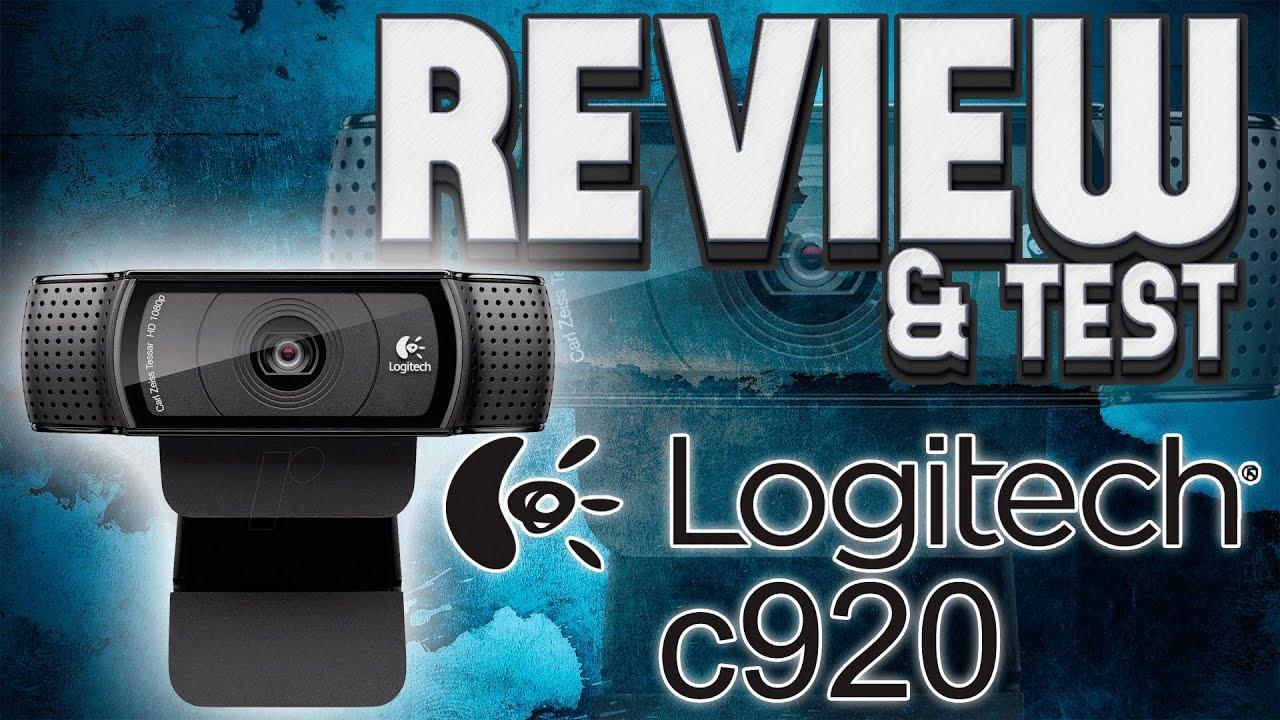 logitech hd pro webcam c920 manual