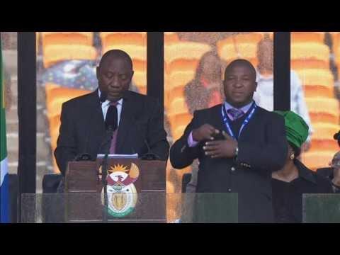 """Nelson Mandela sign language interpreter """"a complete fraud"""" - Truthloader"""