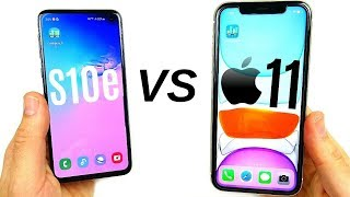 Galaxy S10e vs iPhone 11 Speed Test