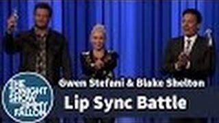 open review lip sync battle with gwen stefani and blake shelton video