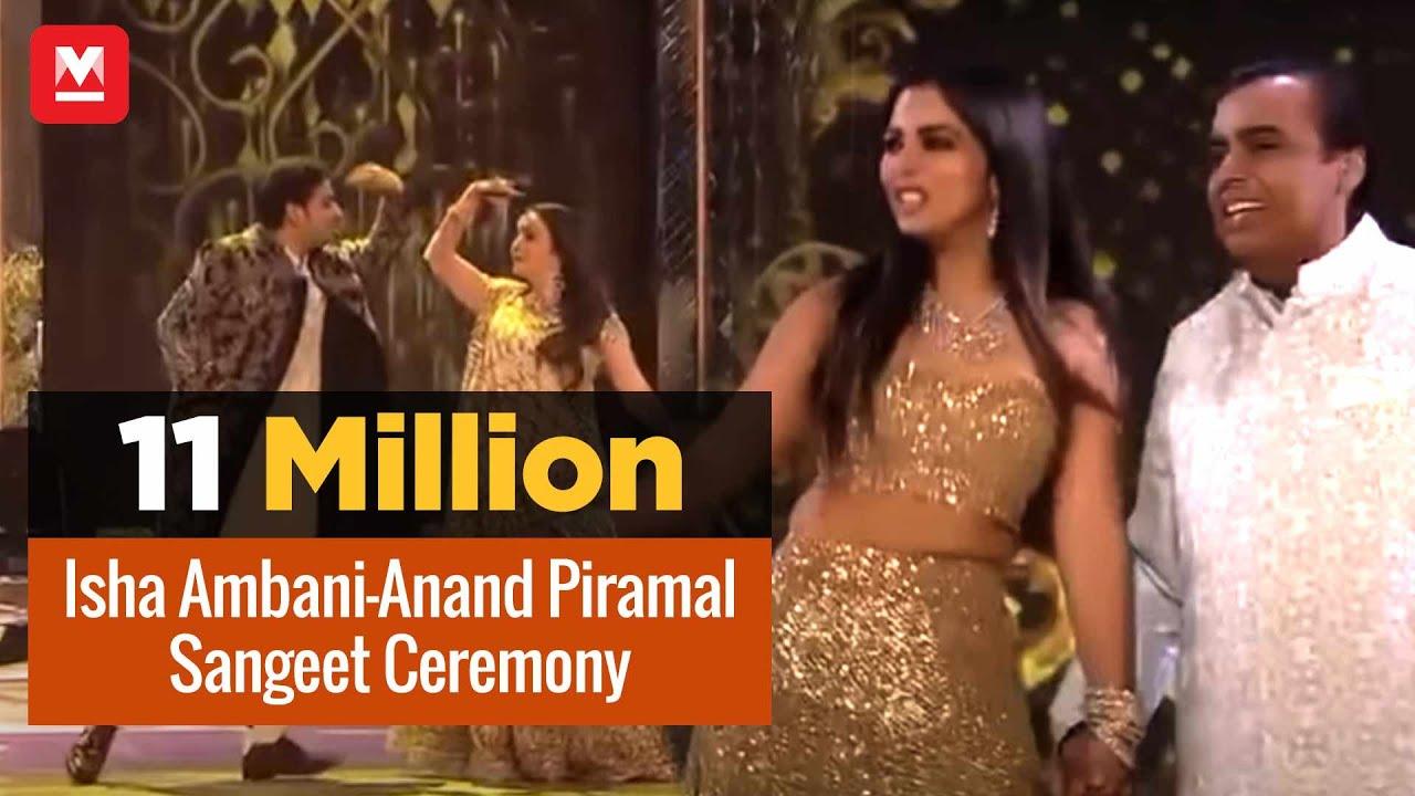 Isha Ambani-Anand Piramal wedding: Sangeet Ceremony