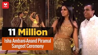 Isha Ambani-Anand Piramal wedding: Sangeet Ceremony