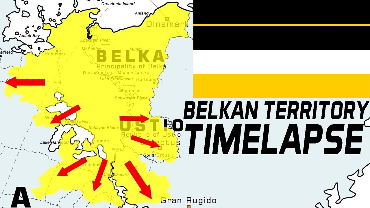 The History Of The Belkan Territory Timelapse From 1987 To 2010 Episode 10 Stuff About Ac Youtube