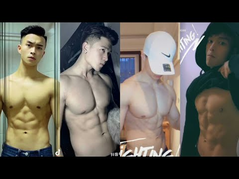 Hot Boys Show Abs Challenge | TikTok China | Douyin