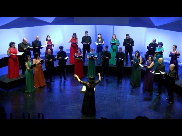 Little Birds, E. Whitacre. Coro de la Universidad Carlos III de Madrid. Dir. Nuria Fernández Herranz