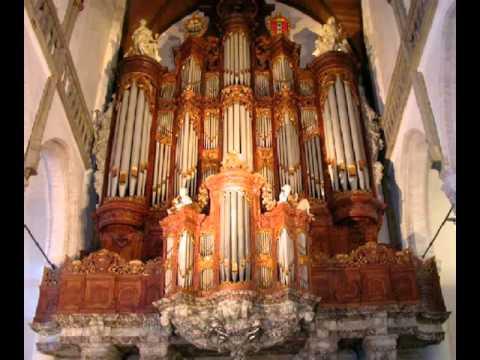 Jean Guillou speelt Dorische Toccata Oude kerk Amsterdam