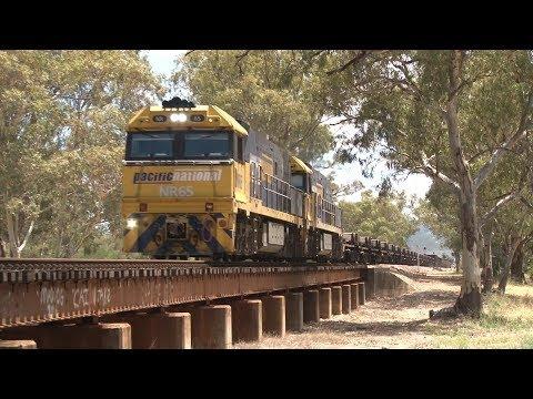 Pacific National Steel Trains of Australia