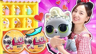 LOL驚喜娃娃寵物版出奇蛋開箱啦!小伶玩具 | Xiaoling toys