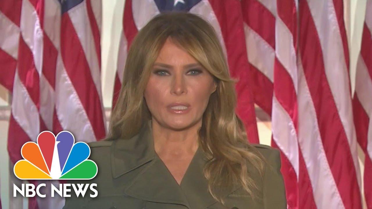 Download Watch Melania Trump's Full Speech At The 2020 RNC   NBC News