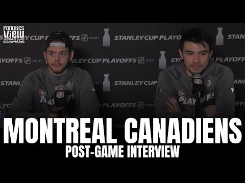 Nick Suzuki & Jesperi Kotkaniemi on Montreal Taking 3-2 Lead vs. VGK, Eric Staal, Phillip Danault