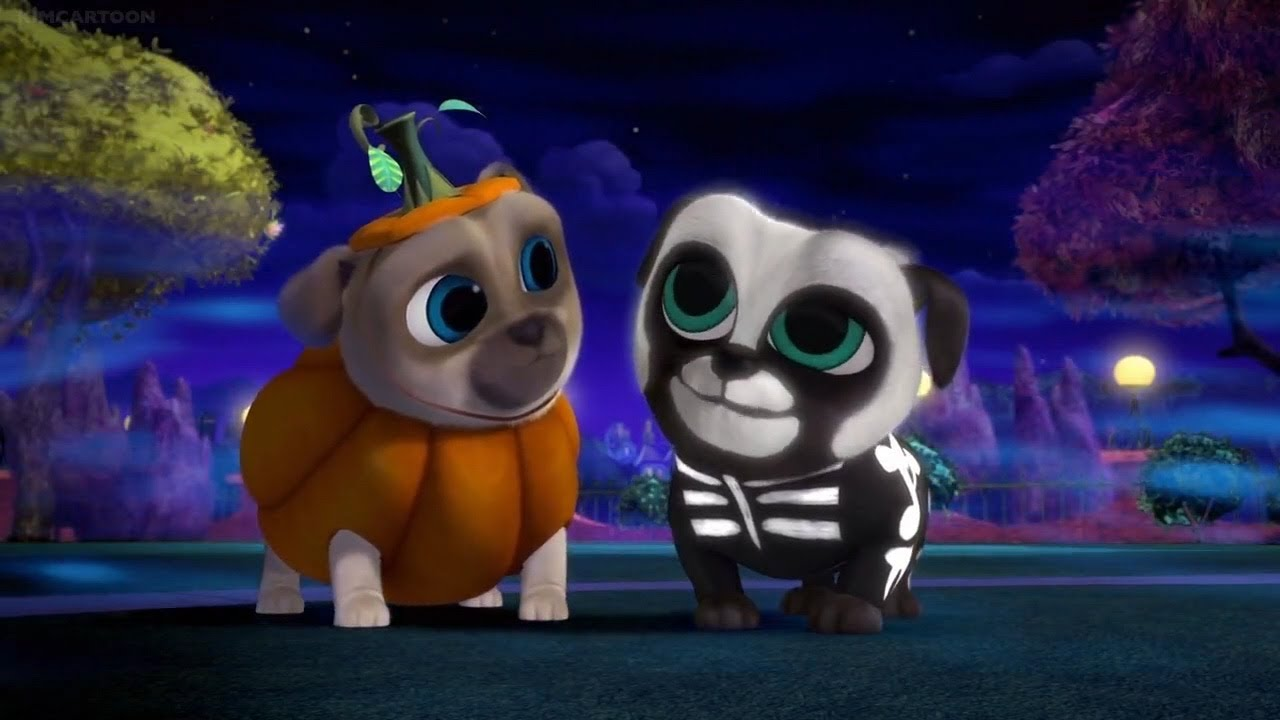 Bingo And Rolly Chase After Chloe s Costume Halloween Puppy Dog Pals 2017 0456e04756f