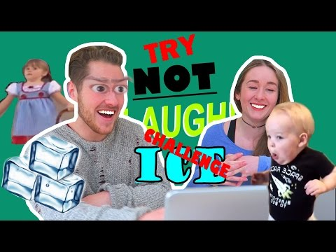 TRY NOT TO LAUGH ICE CHALLENGE!?