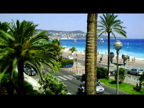 Nice France: sea-front city of my life (music: La vie en rose)