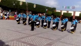 Banda de guerra de Empalme Escobedo Gto Halcones.. 1er lugar del concurso a nivel municipal.. 🌸