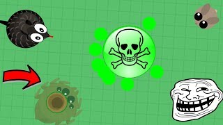 Mope.io - POISONOUS WATER TROLL! EPIC GIANT SPIDER TROLLING! (Mope.io Funny Moments)