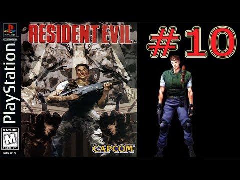 Resident Evil (PS1) Прохождение за Криса #10 Босс Тиран ФИНАЛ