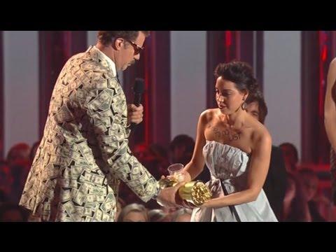 MTV Movie Awards Recap: Rebel Wilson Shines, Aubrey Plaza Storms Stage To Take Will Ferrell's Award
