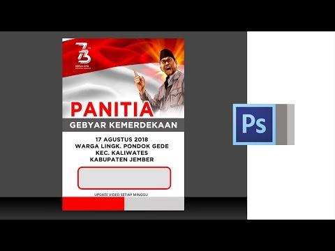 Desain Id Card Panitia Hut Ri Terkini