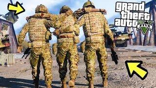 Третья мировая война в Gta 5! Битва за город - реальная жизнь в гта 5