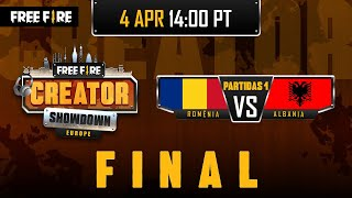 [PT] Free Fire Europe Creator Showdown - Final