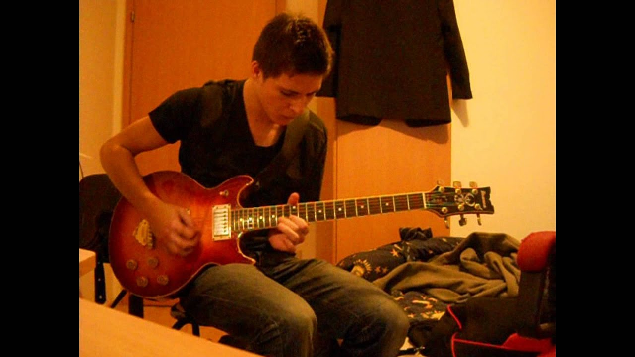 Eric johnson cliffs of dover guitar cover by michael for Michael hofer